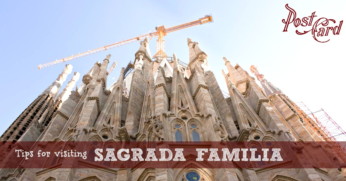 A walk through the neighborhood of the Sagrada Familia