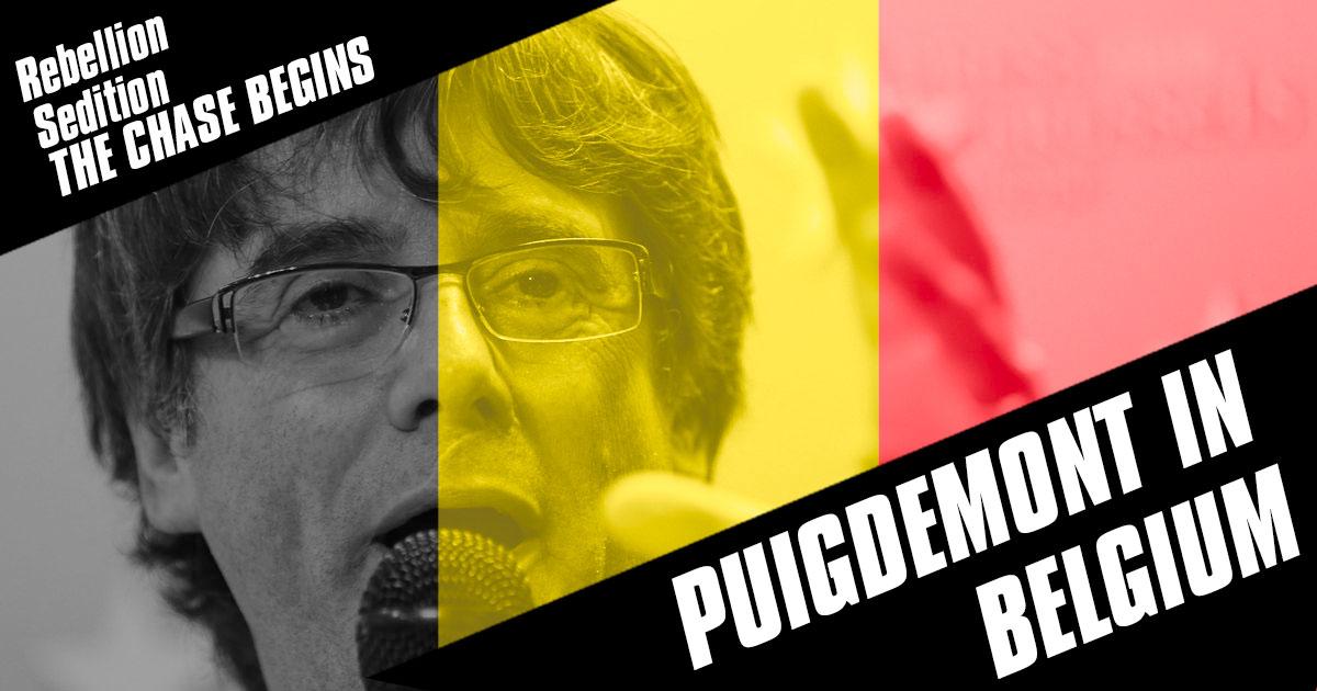 Puigdemont en Bruselas: Motivos y reacciones belgas
