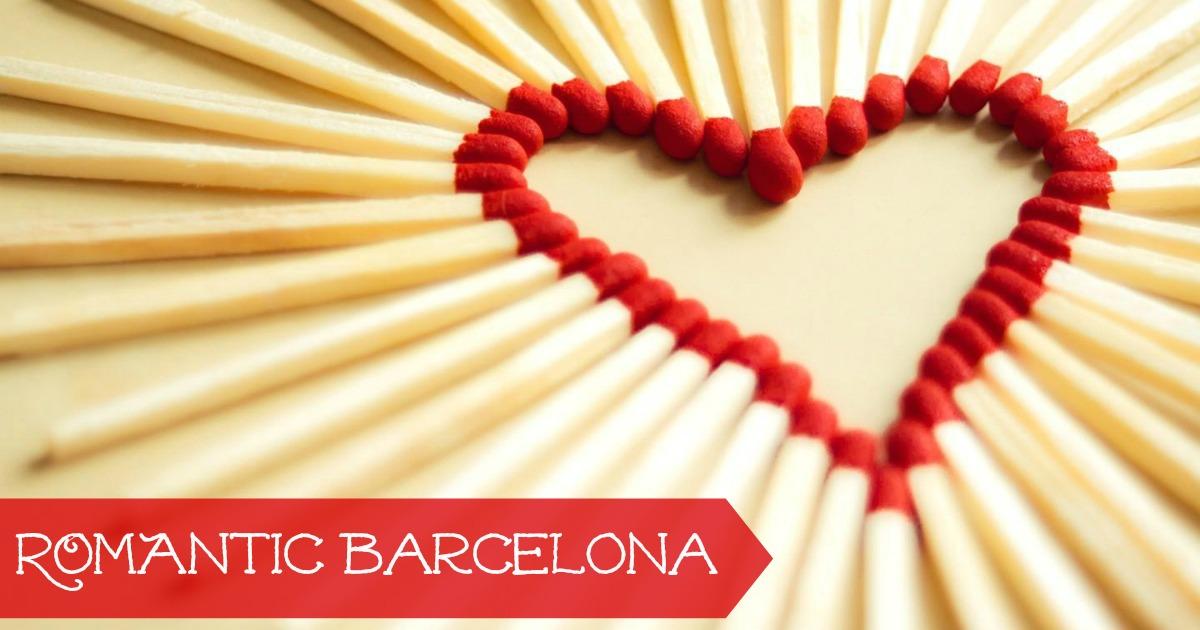 Se och göra i Barcelona på Sankt Valentin