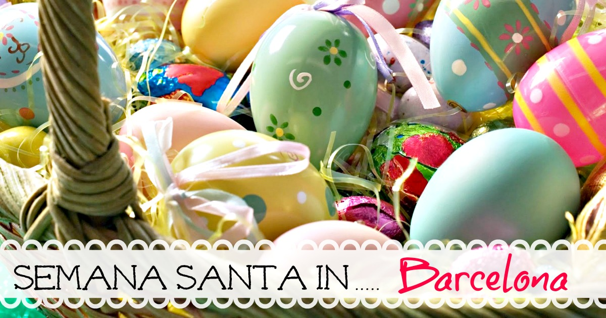 How is Easter celebrated in Barcelona?