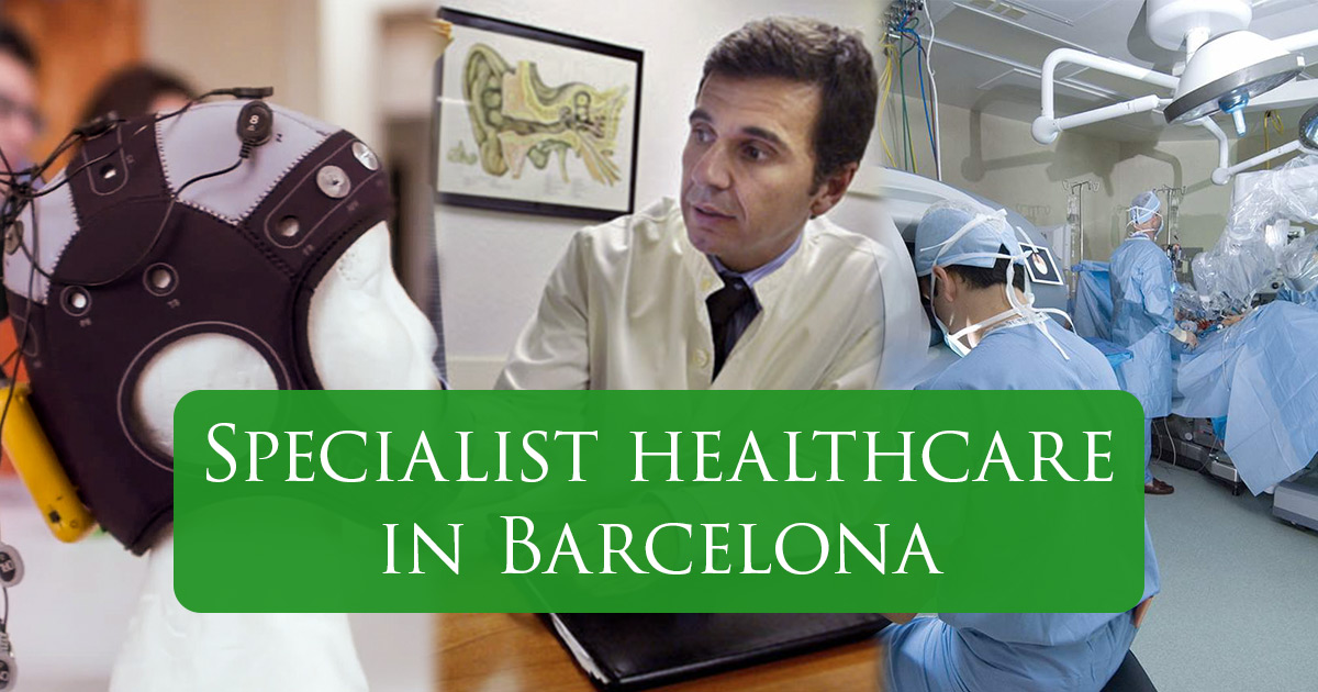 Specialist medical treatments in Barcelona