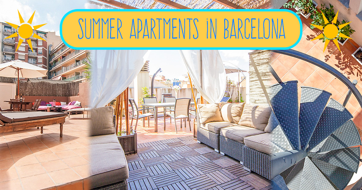 Accommodation for the summer in Barcelona