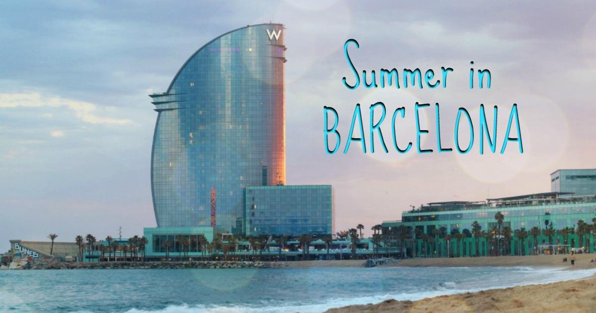 Barcellona d'estate - Consigli, attività e alloggio