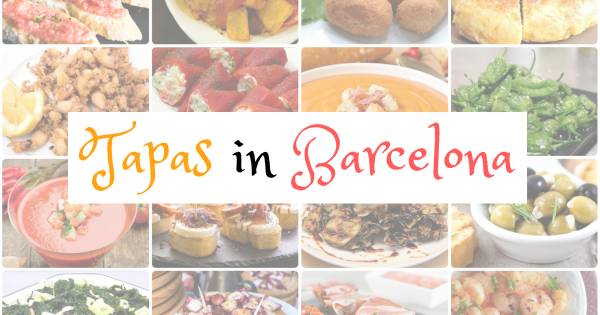 TOP 35 Tapas in Barcelona
