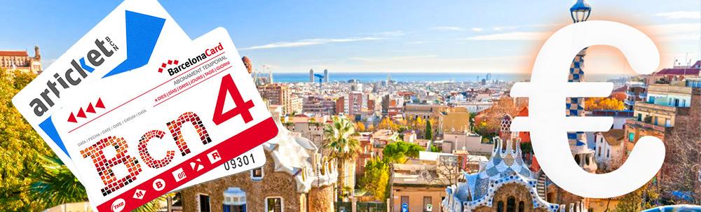 Barcelona Touristikkarten