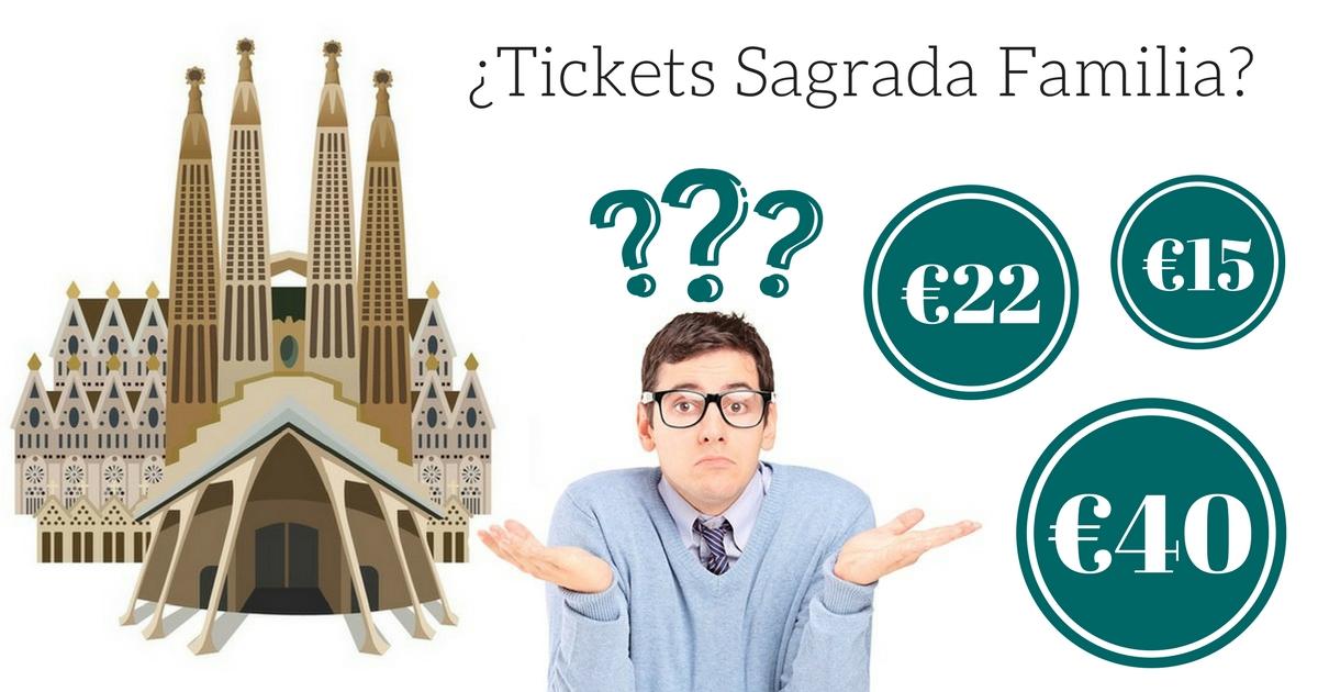 Overzicht Sagrada Familia Tickets