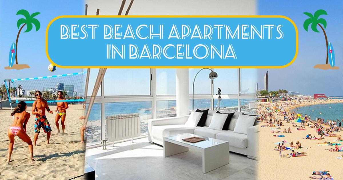 Les 7 meilleurs appartements sur la plage, à Barcelone