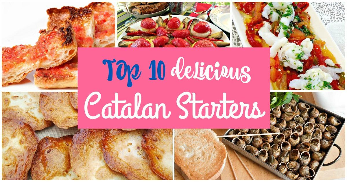 Topp 10 katalanska förrätter