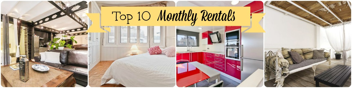Top 10 Monthly Rentals with OK Apartment Barcelona