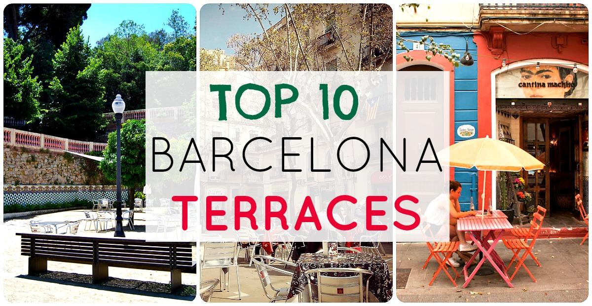 TOP 10 Terrazas de Barcelona