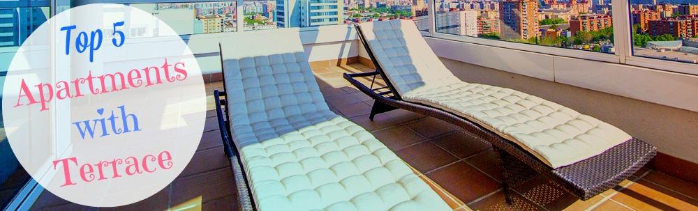 Top 5 lejligheder i Barcelona med terrasse