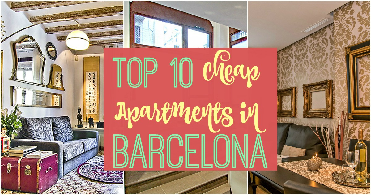 Top 10 des appartements pas cher à Barcelone