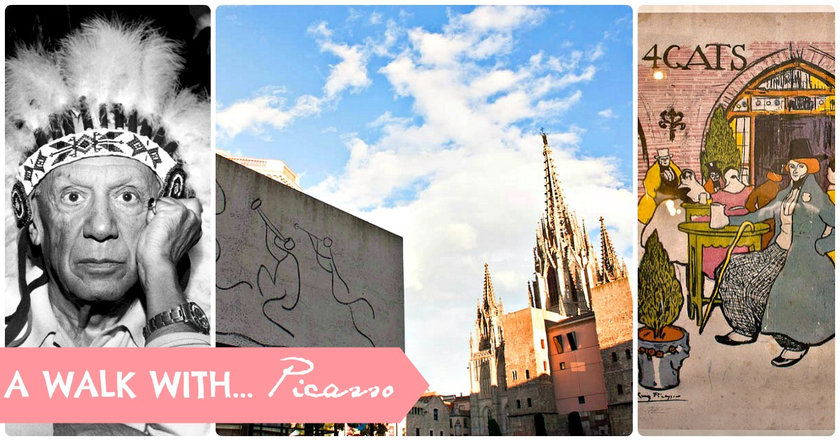 #Route: in de voetsporen van Picasso in Barcelona
