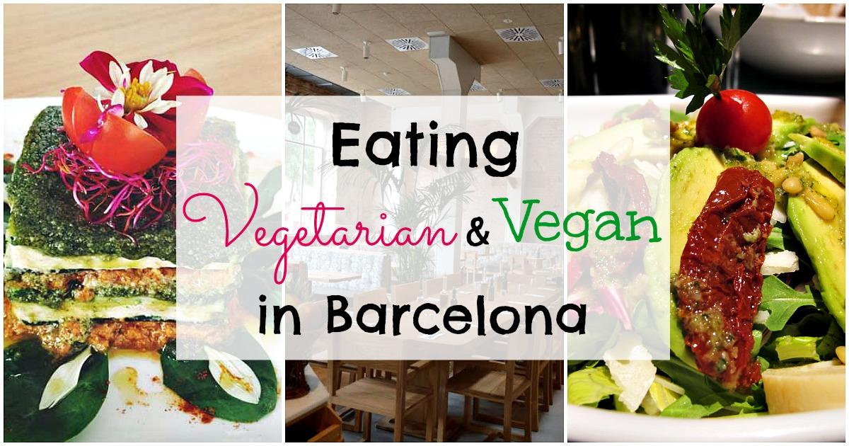 8 Restaurantes Vegetarianos y Veganos en Barcelona
