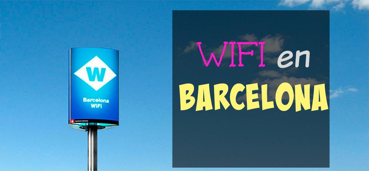 Darmowy internet (wifi) w Barcelonie