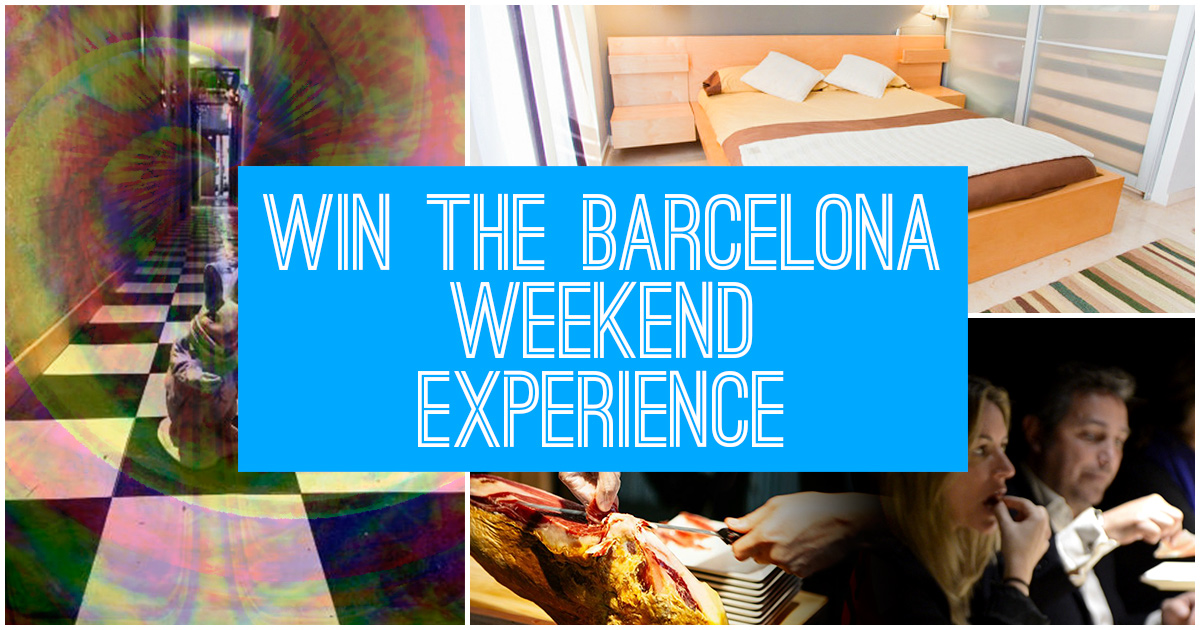 A weekend getaway in Barcelona… For free!