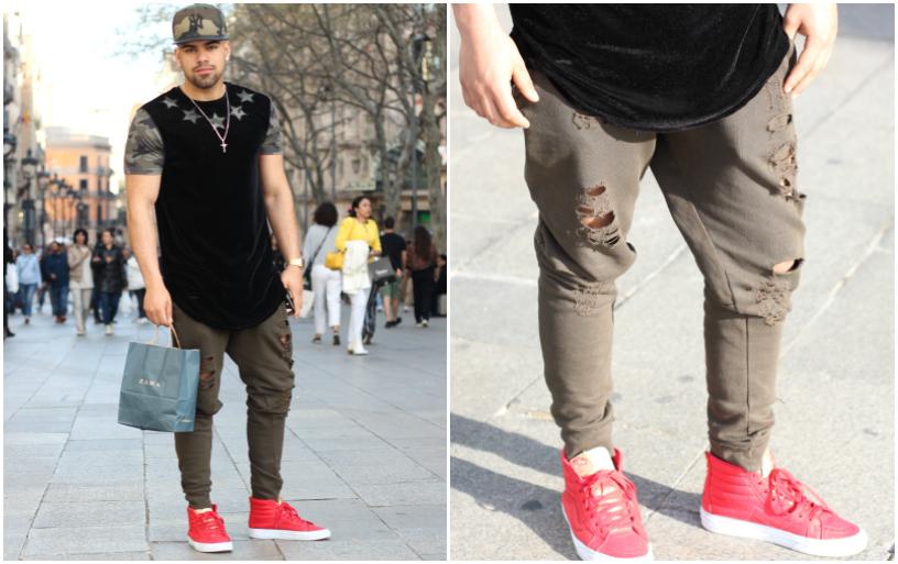 Populaire Mode Masculine à Barcelone AC17