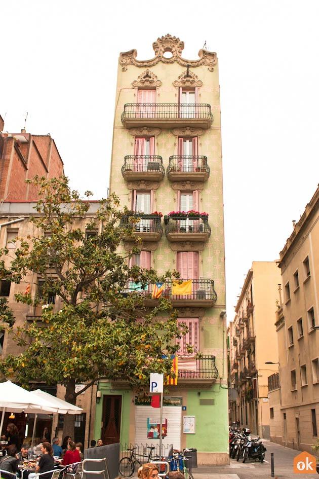 mysigt område barcelona