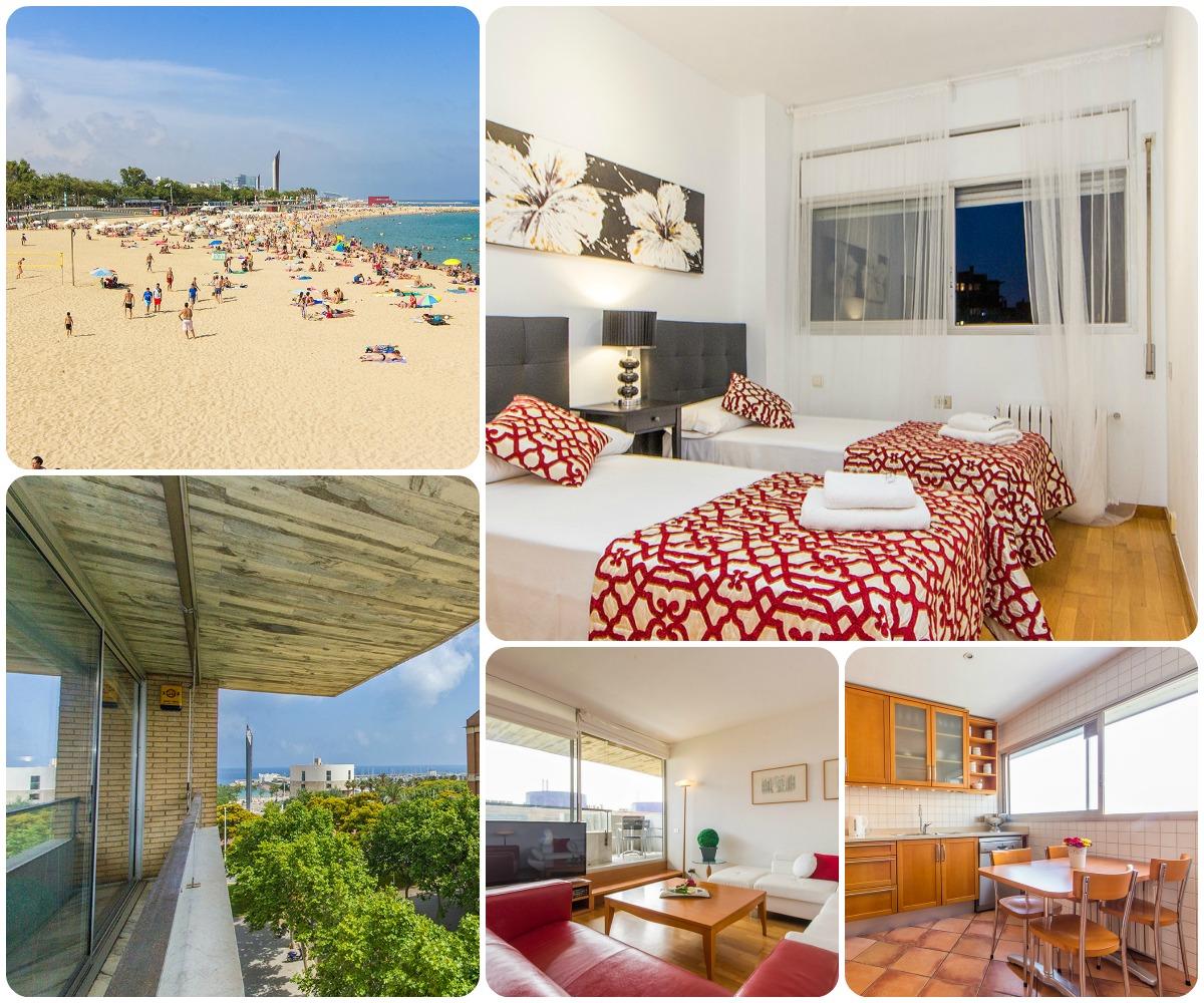 I migliori appartamenti vicino alle spiagge di barcellona for Appartamenti al centro di barcellona