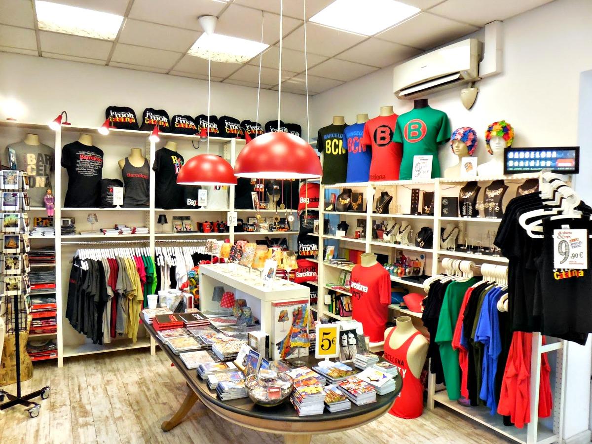 83c377f669eb Dónde encontrar las mejores tiendas de souvenirs de Barcelona?