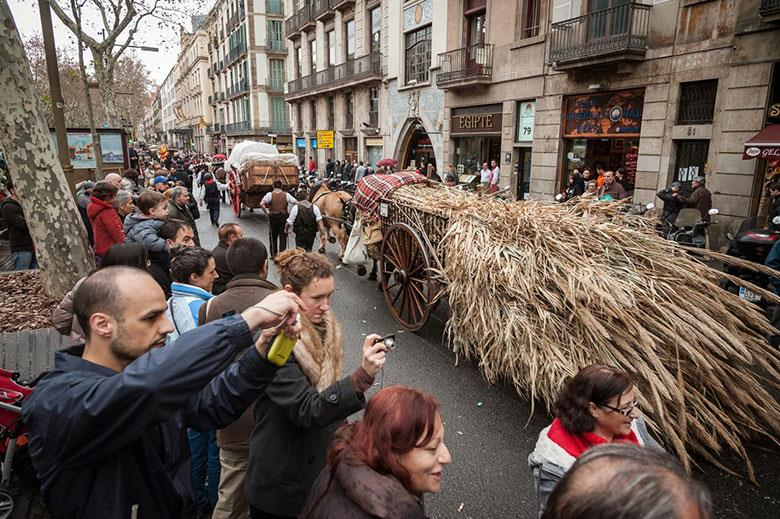 The Els Tres Tombs Parade