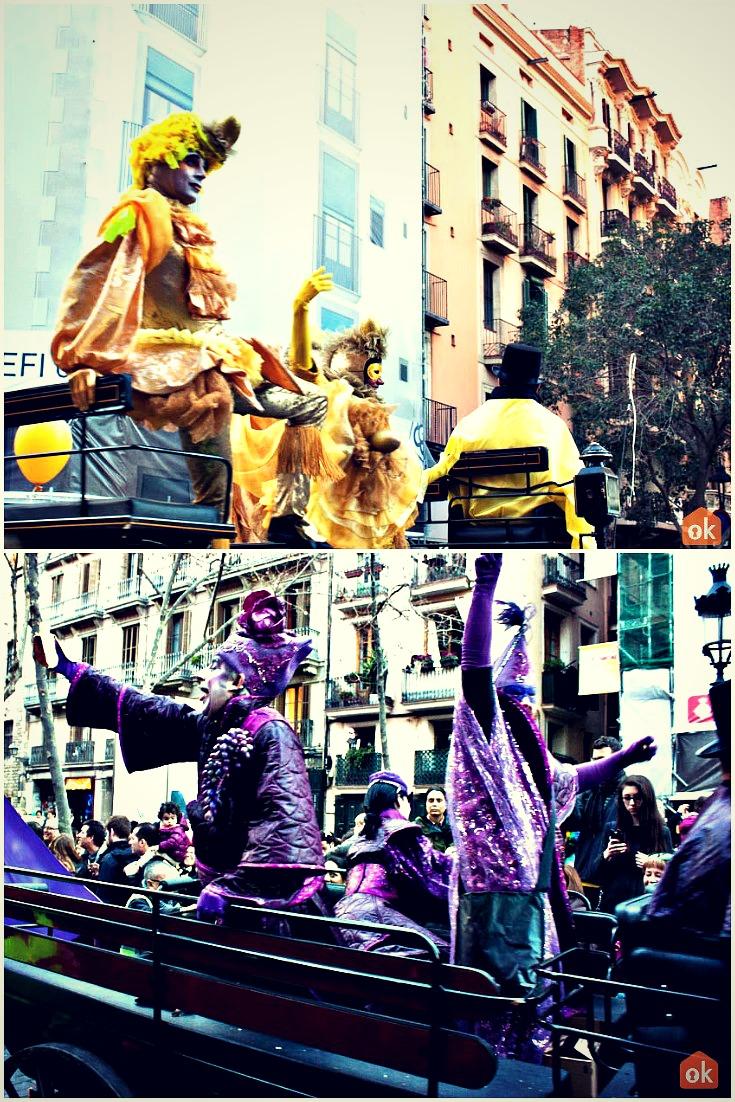 karneval i barcelona