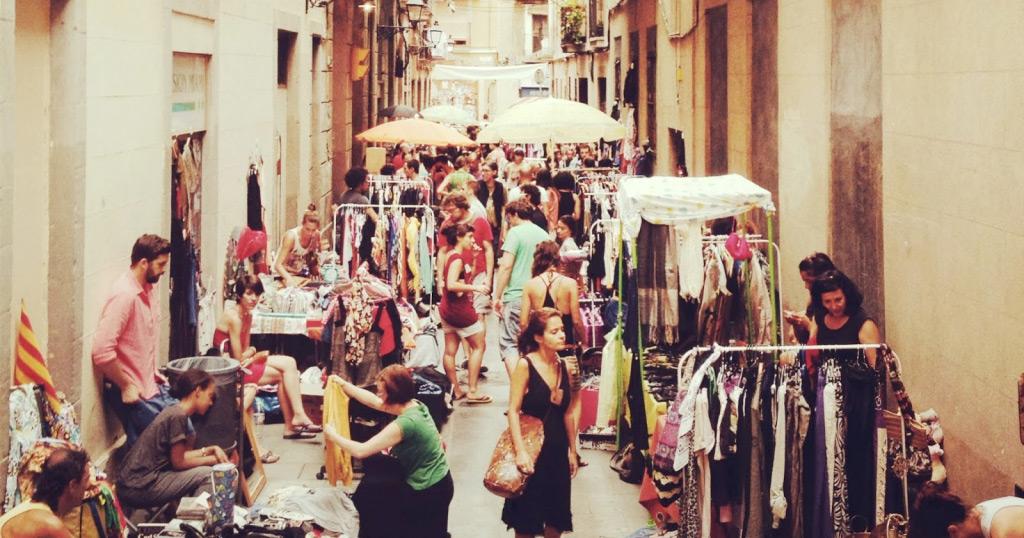 Mercadillos de fin de semana en barcelona - Mercado segunda mano barcelona ...