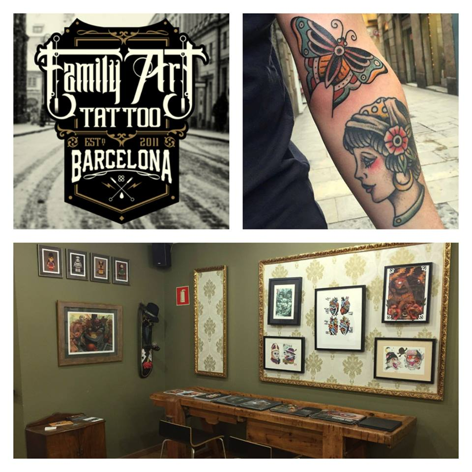 Tatoeages In Barcelona