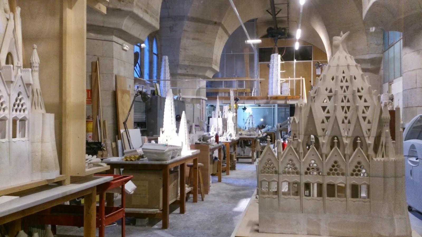 3D Modelle In Gaudís Werkstatt In Der Sagrada Familia