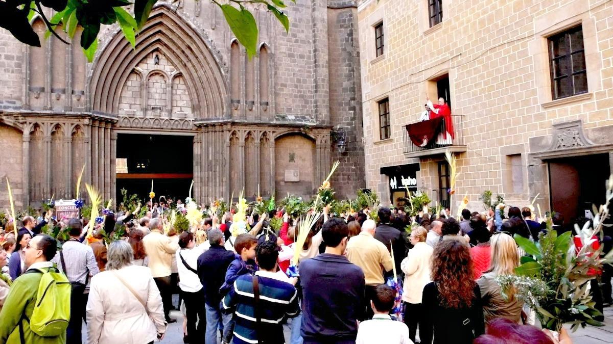 Cómo Se Celebra La Semana Santa En Barcelona