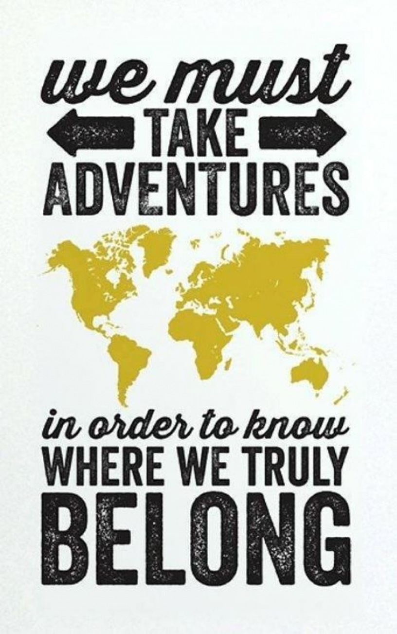 Quote about finding your place in the world