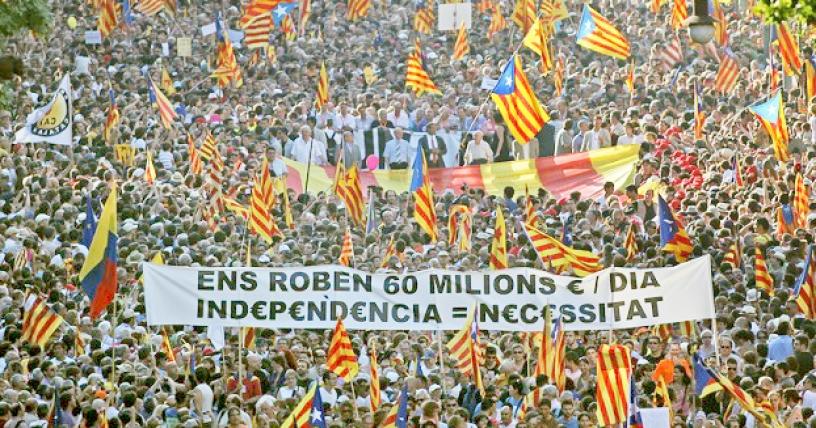 Independentist manifestation