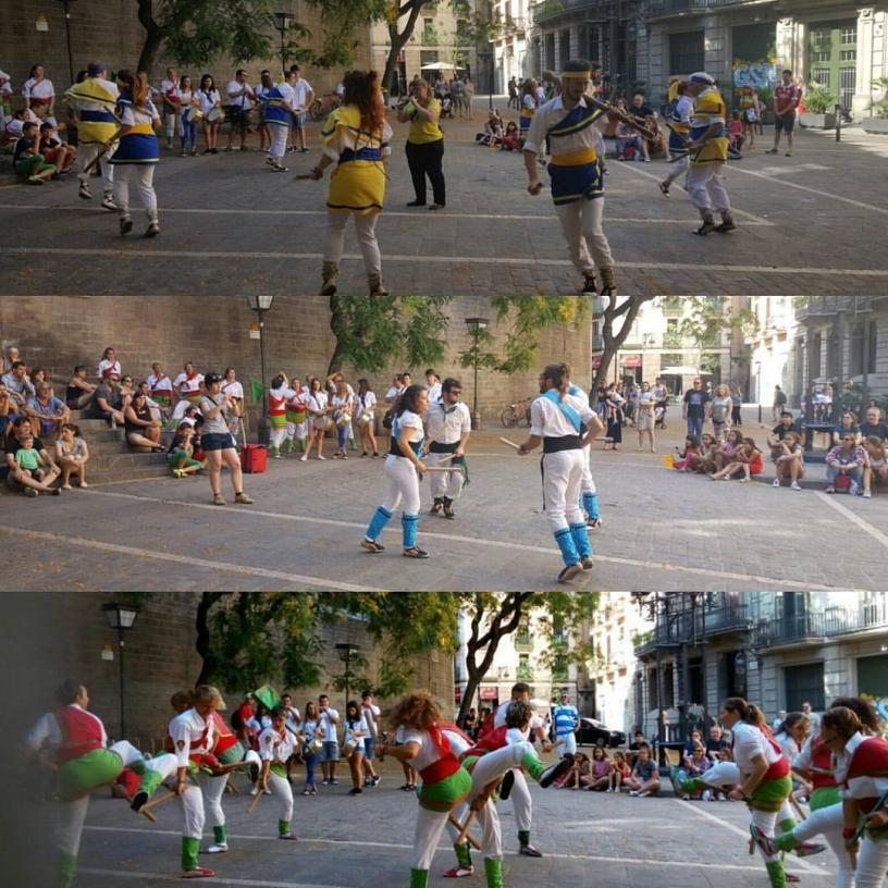 Bastoners dancing