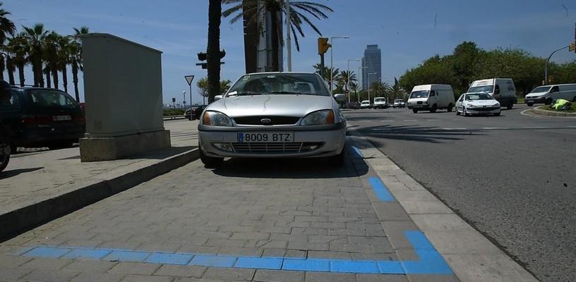 Donde aparcar en Barcelona