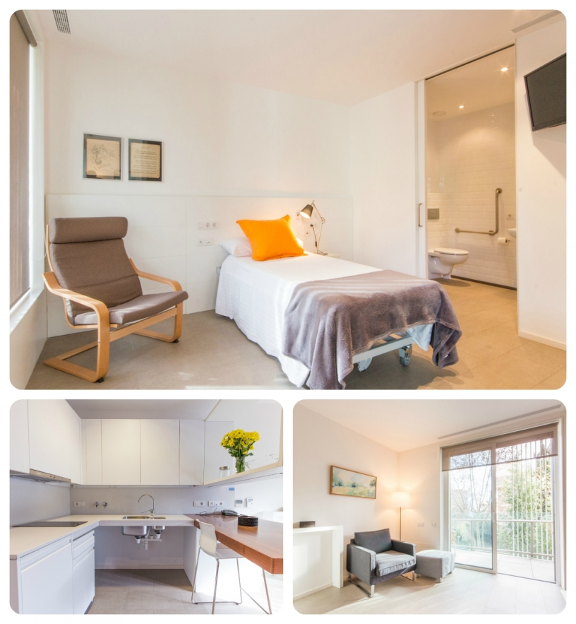 Fully adapted apartment for disabled solo travellers in Barcelona