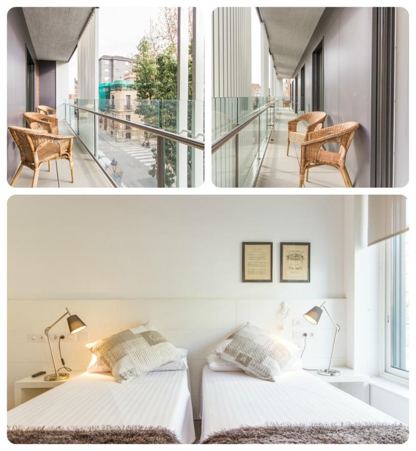 Apartamento con acceso a personas con discapacidad física con asistencia 24h