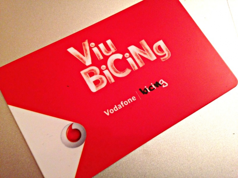 Bicing Card Barcelona