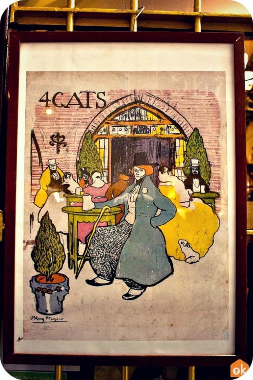 4 Gats affisch