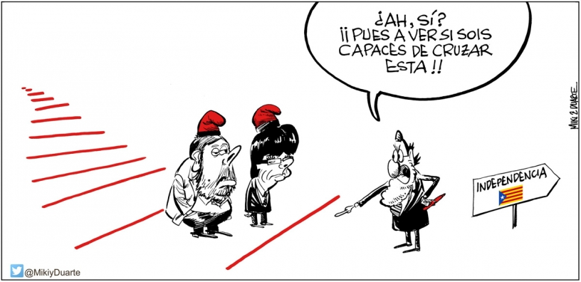 Rote Linien made by Rajoy
