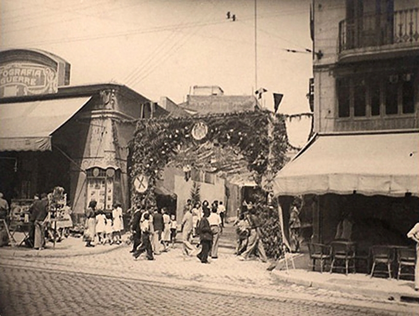 Barcellona storia e tradizione nel passato