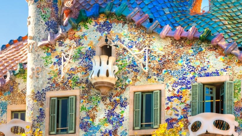 Барселона - артистичный город