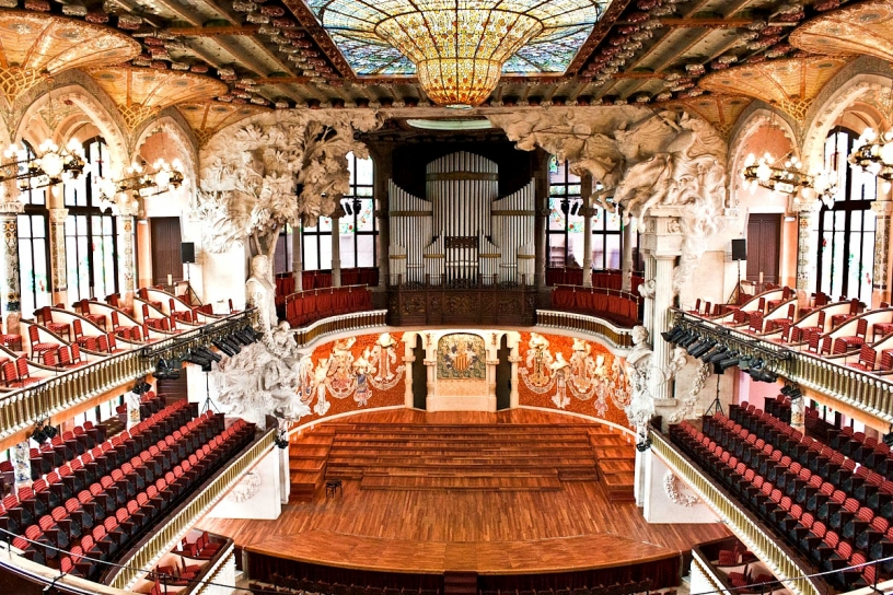 Palau de la Musica Catalana - idea for winter
