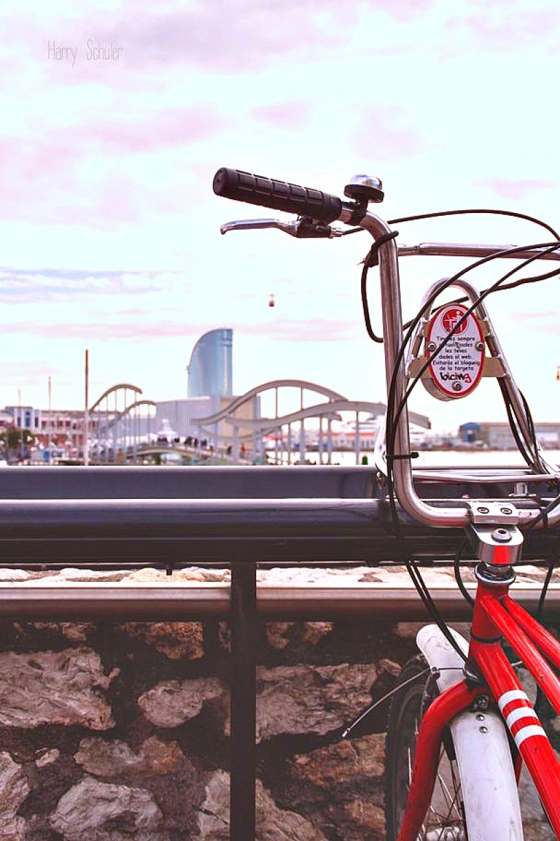 Se déplacer en Bicing à Barcelone