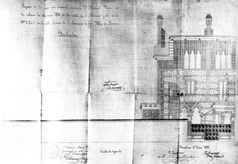 Progetto Casa Vicens