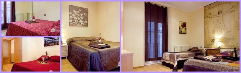 Appartement pour groupe à Barcelone
