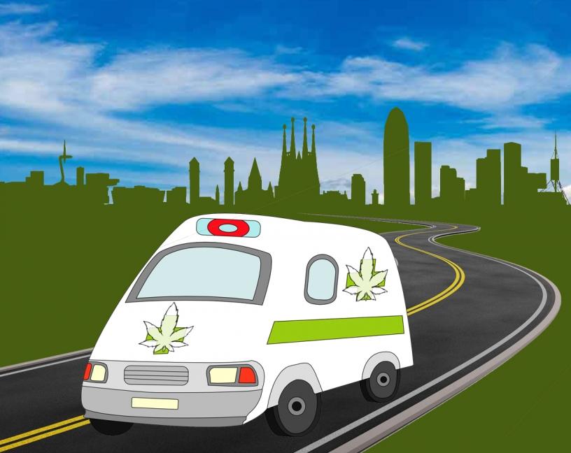 weed ambulance
