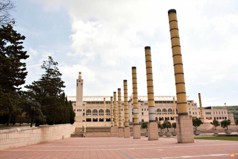 Anillo Olímpico Barcelona 1