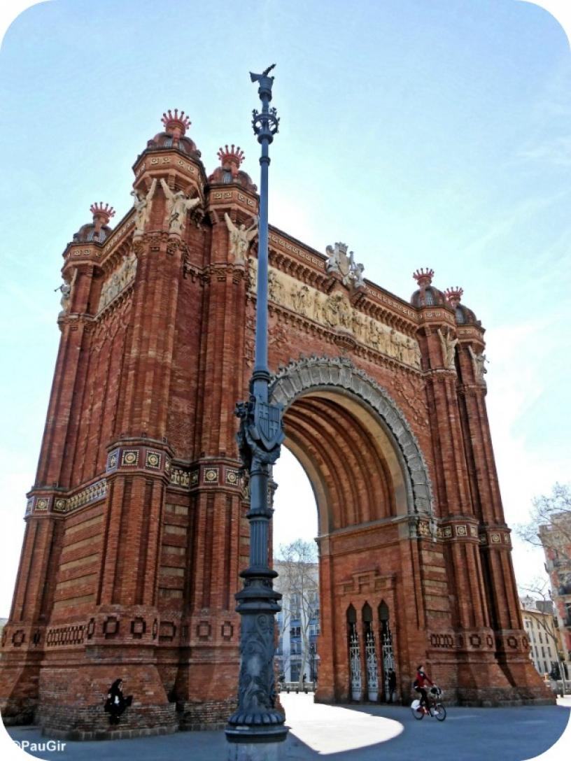 Arco di Trionfo, Barcelona