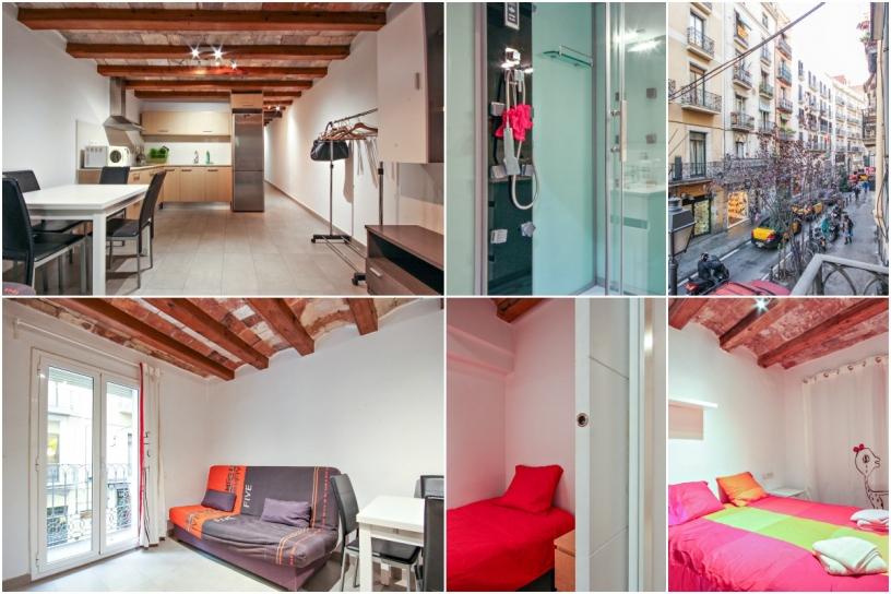 апартаменты помесячно в Барселоне