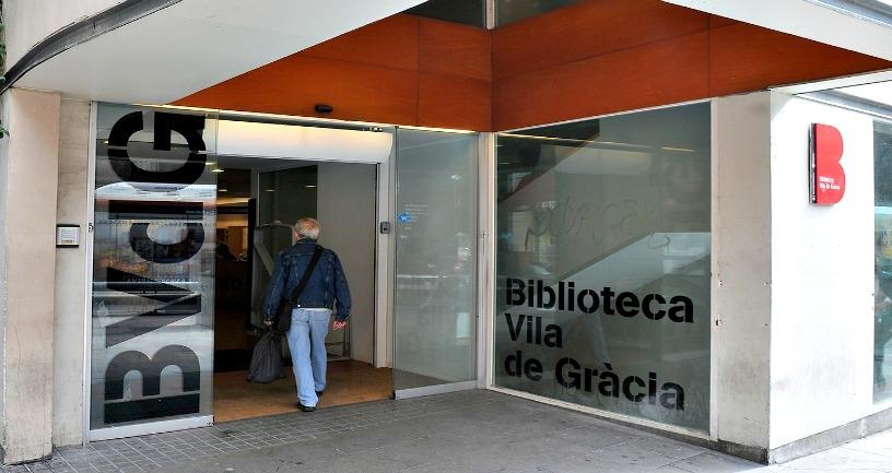 Vila de Gràcia Library, Barcelona